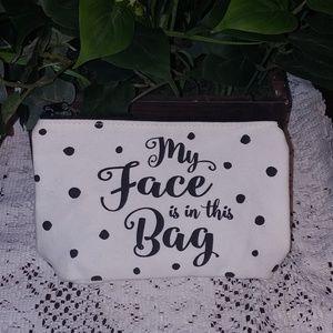 New Polka Dot Makeup Bag